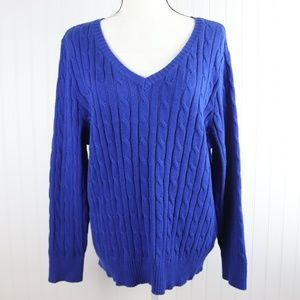 NWT Studio Works Cable Knit Sweater Sz 2X